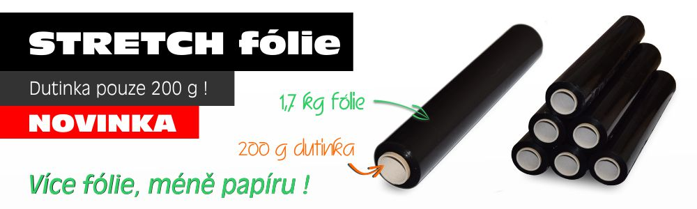 Stretch folie dutinka 200 g